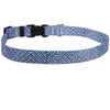 Yellow Dog Design Blue Tweed Dog Collar
