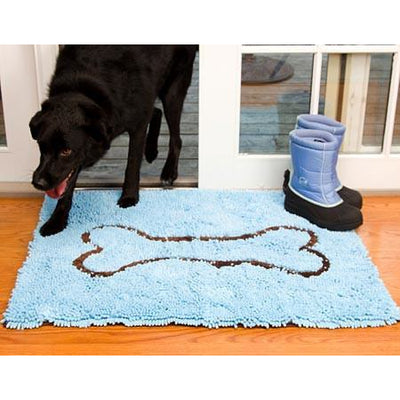 Soggy Doggy Super Absorbent Doormat, Large Blue