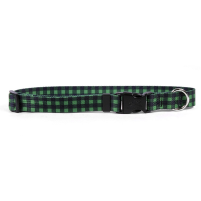 Yellow Dog Design Buffalo Plaid Dog Collars