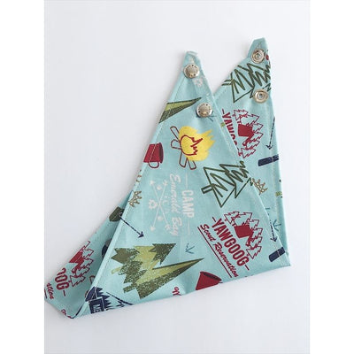 Trish Hampton Dog Bandana - Camping