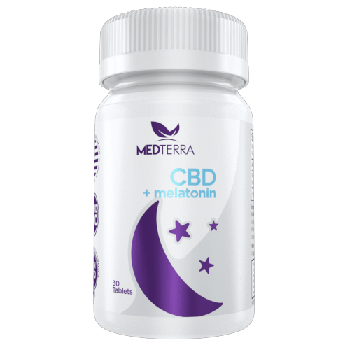 Medterra CBD+Melatonin Sleep Tablets