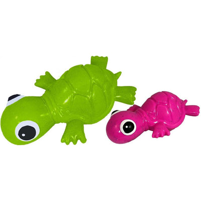 Recycled Rubber Turtle Interactive Dog Toy