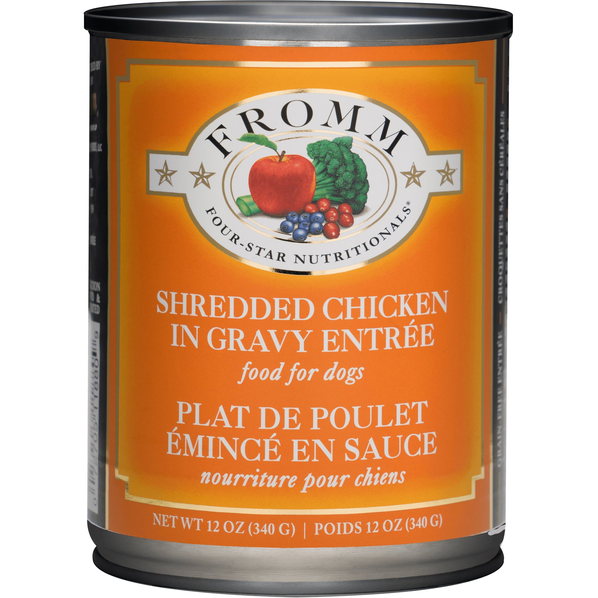 Fromm Four-Star Dog Food - Shredded Chicken Entree