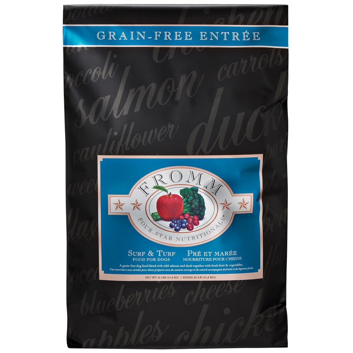 Fromm Four-Star Dog Food - Grain Free Surf & Turf