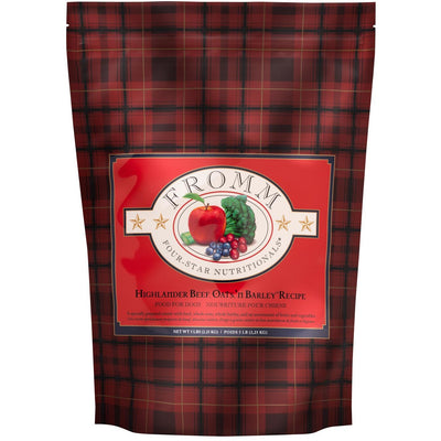 Fromm Four-Star Dog Food - Highlander Beef & Oats