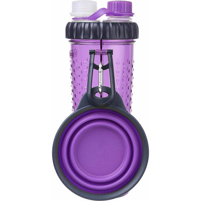Dexas H-DuO Dual Bottle with Travel Bowl