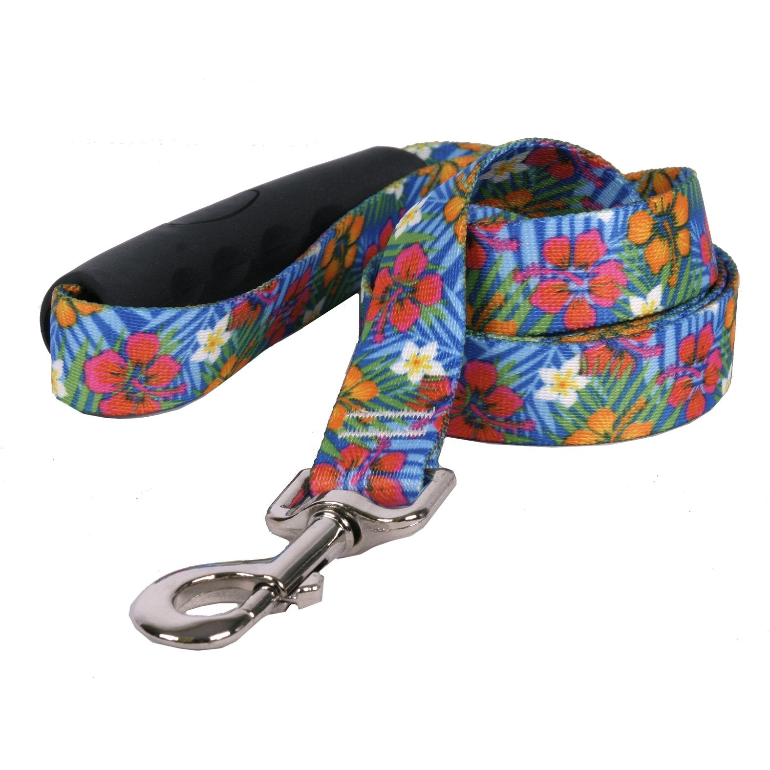 Yellow Dog Design EZ-Grip Hibiscus Paradise Dog Leash