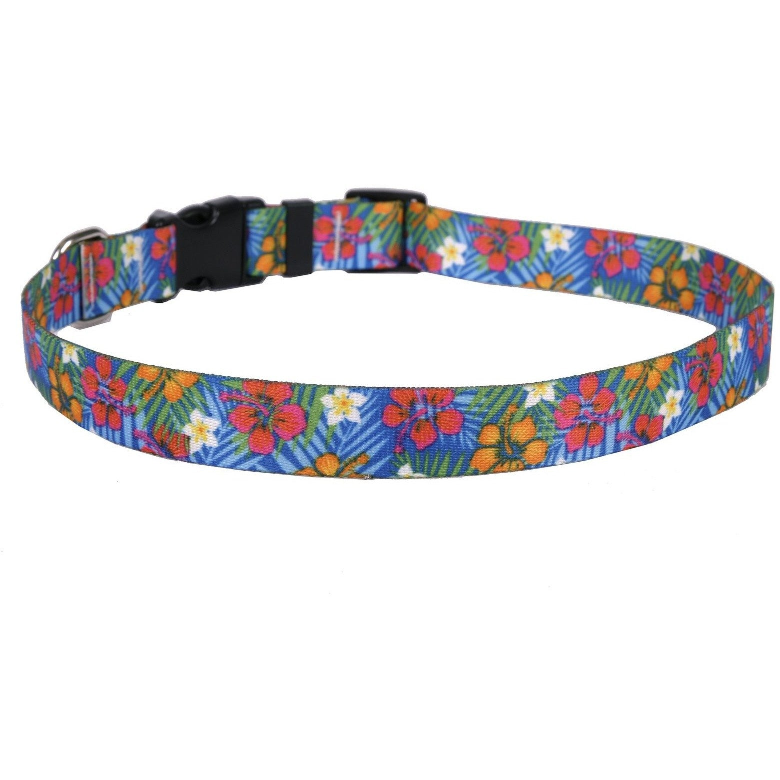 Yellow Dog Design Hibiscus Paradise Dog Collar