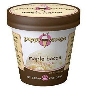 Puppy Scoops Maple Bacon Ice Cream Mix for Dogs
