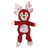 foufouBrands Metallic Frosted Knotted Reindeer Toy