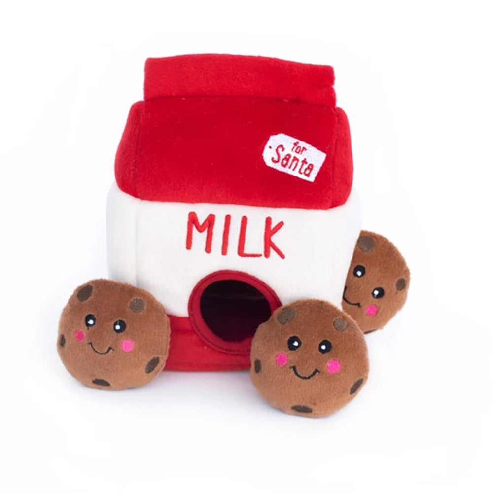 Zippy Paws Holiday Milk & Cookies