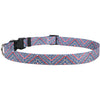 Yellow Dog Design Multi Tweed Dog Collar