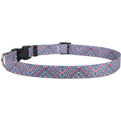 Multi Tweed Dog Collar by Yellow Dog Design