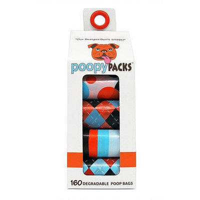 Poopy Packs® in Orange by Metro Paws