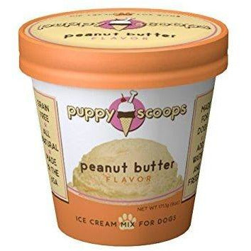 Puppy Scoops Peanut Butter Ice Cream Mix for Dogs