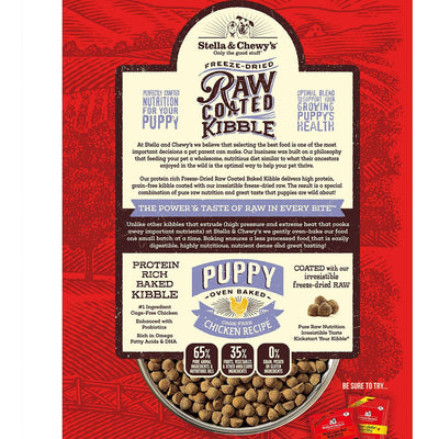 Stella & Chewy's Puppy Raw Coated Kibble - Cage-Free Chicken
