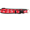 Yellow Dog Design Holiday Reindeer Dog Collar