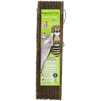 Imperial Cat Holiday Hanging Scratcher with Catnip