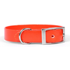 Yellow Dog Design Orange Elements Dog Collar