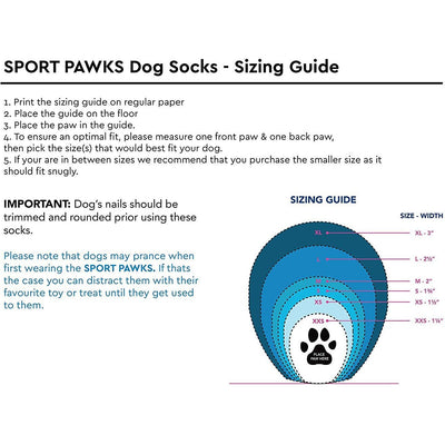 RC Pets Sport Pawks Dog Socks, Red Heather