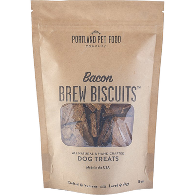 Brew Biscuits with Bacon Dog Treats by Portland Pet Food Company