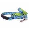 Yellow Dog Design EZ-Grip Uptown Radiance Blue Dog Leash