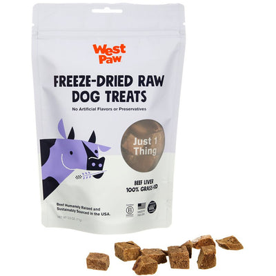 West Paw Freeze-Dried Treats - Beef Liver