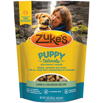 Zuke's Puppy Naturals - Lamb & Chickpea Recipe