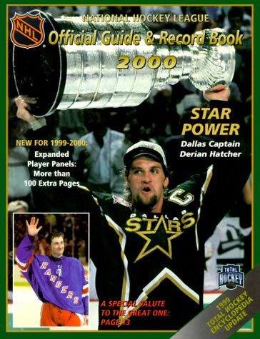 The National Hockey League Official Guide & Record Book: 2000 (National Hockey League Official Guide and Record Book 2000)