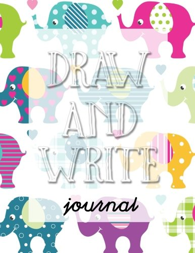 Draw And Write Journal: Creative Writing Drawing Journal For Kids (Half Page Lined Paper With Drawing Space)(8.5 x 11 Notebook)(V11)