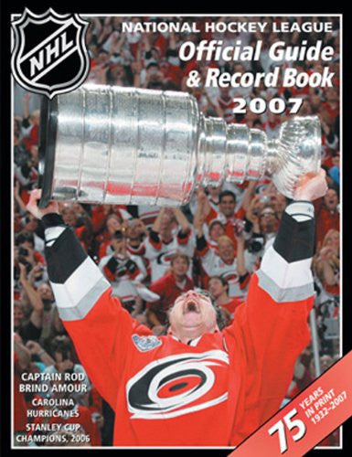 NHL Official Guide & Record Book 2006-2007