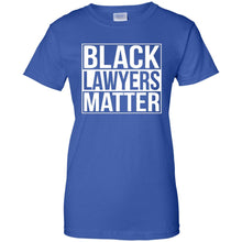 Black Lawyers Matter Equal Rights Law Race Unity T Shirt_Black