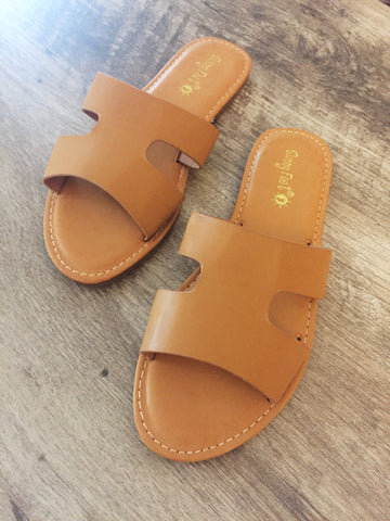 Bailey Sandals (Tan)