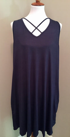 Cross My Heart Strap Dress