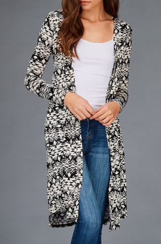 Long Aztec Duster