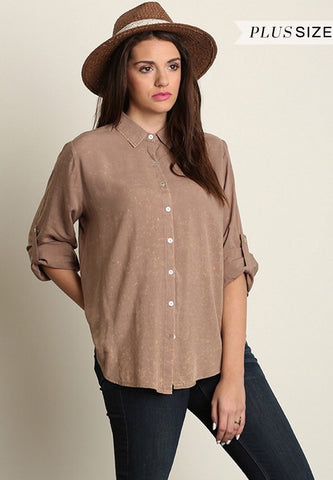 Faded Away Blouse