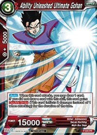 Ability Unleashed Ultimate Gohan P-020