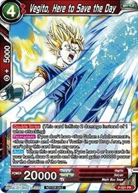 Vegito, Here to Save the Day P-021
