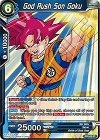 God Rush Son Goku SD1-02 ST