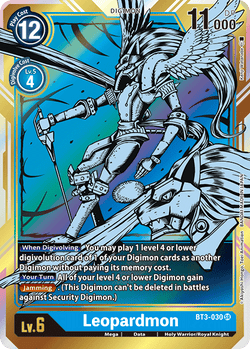Leopardmon BT3-030SR Alternative Art