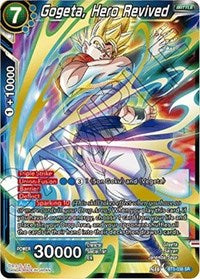 Gogeta, Hero Revived BT5-038 SR