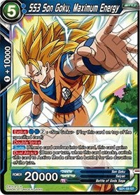 SS3 Son Goku, Maximum Energy SD1-03 ST