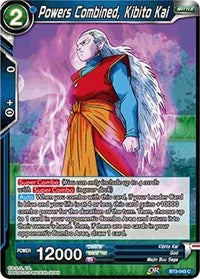 Powers Combined, Kibito Kai BT3-043 C