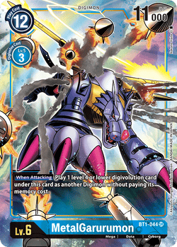 MetalGarurumon BT1-044SR Alternative Art
