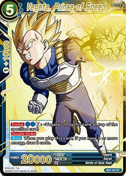 Vegeta, Prince of Speed SD1-05 ST