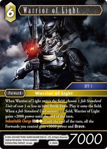 Warrior of Light 6-066H