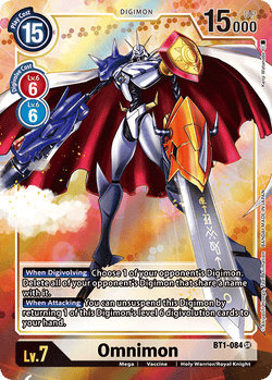Omnimon BT1-084SR Alternative Art