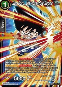 Son Goku, the Adventure Begins BT6-107 SR