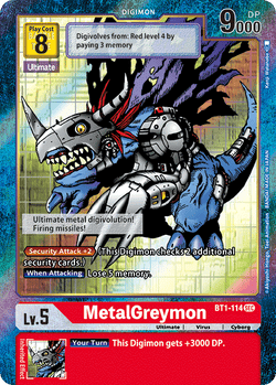 MetalGreymon BT1-114SEC Alternative Art