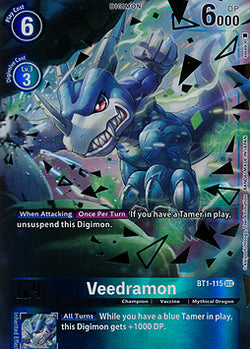 Veedramon BT1-115SEC Alternative Art